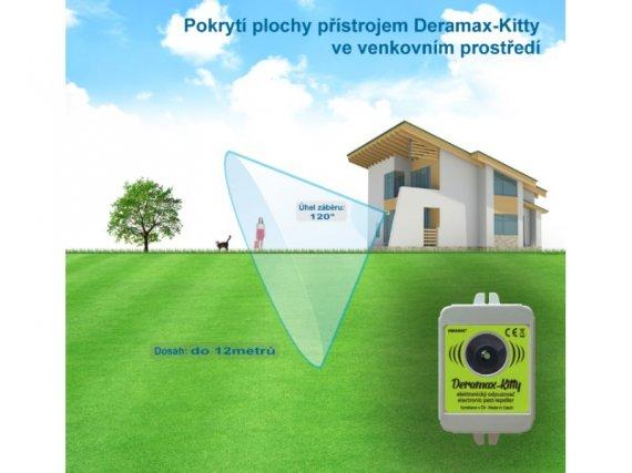 Plašič koček a psů - Ultrazvukový odpuzovač