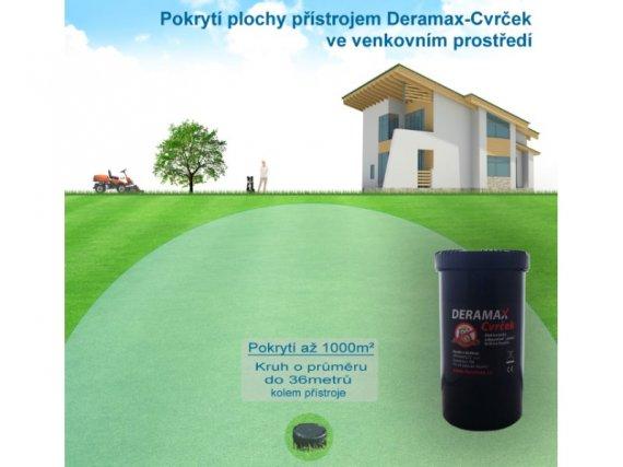 Plašič krtků a hryzců - Deramax®-Cvrček - Elektronický odpuzovač