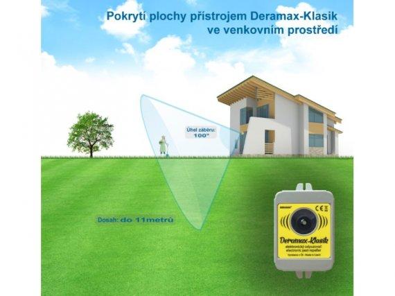 Plašič kun a hlodavců - Deramax®-Klasik - Ultrazvukový odpuzovač