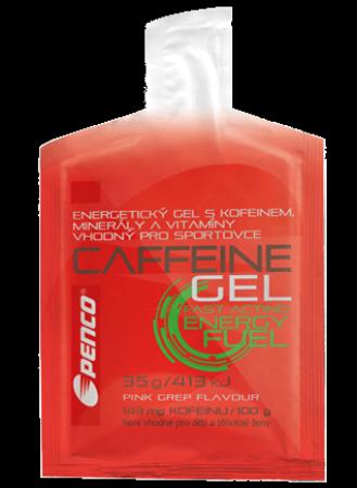 Energetický gel CAFFEINE GEL Růžový grep