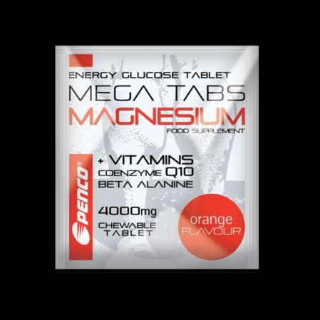 Hořčíkové tablety MEGA TABS MAGNESIUM 1 ks cucavá tableta