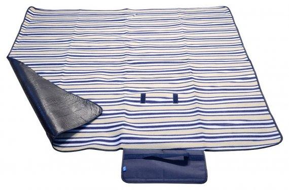 Pikniková deka 150x135cm modrá