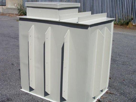 Plastová nádrž N2-EK - samonosná