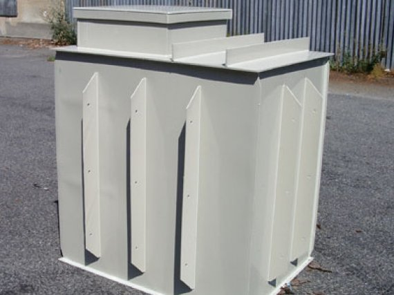 Plastová nádrž N5-EK - samonosná
