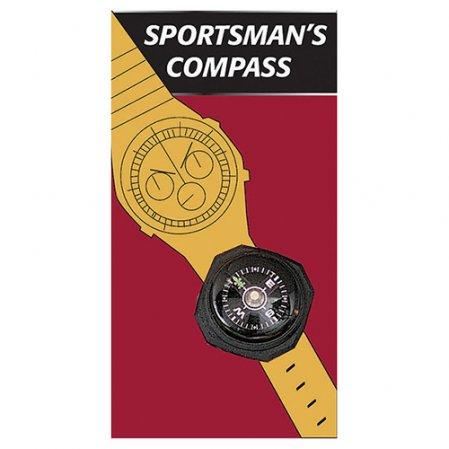 Kompas ROTHCO na hodinky nebo náramek ČERNÝ