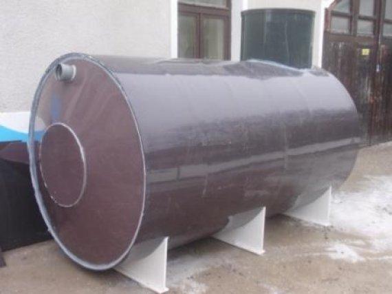 Plastová nádrž NKL18-EK - samonosná