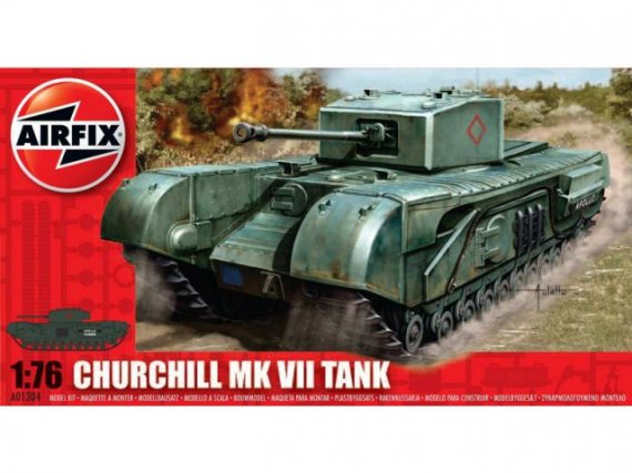 Classic Kit tank Churchill MkVII 1:76