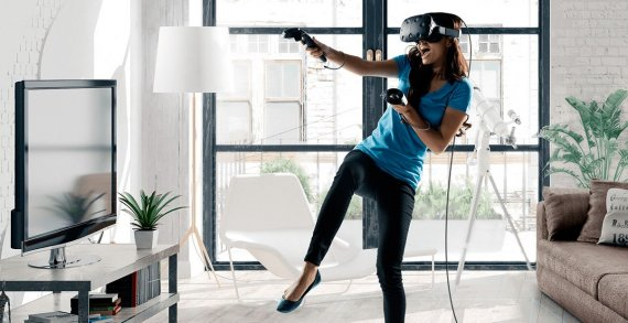 30minut hraní ve virtuální realitě pro jednu osobu