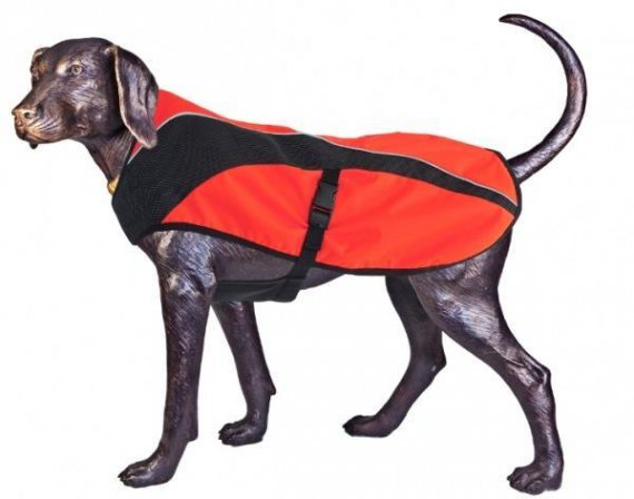 Arma-Doggo - bunda pro psy - Red/ Blk - Large