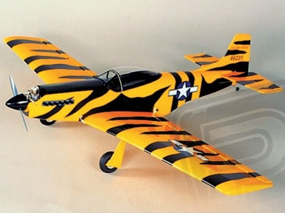 SIG P-51 Mustang 1067mm stavebnice