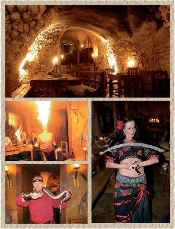 Krčma U krále Brabantského - středověká hostina