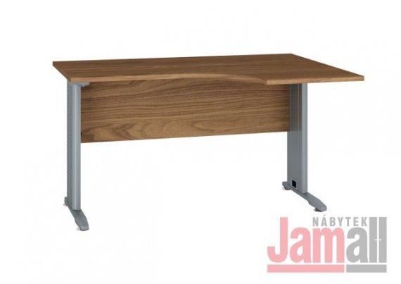 Stůl pracovní kovový ořech OPTIMAL 13