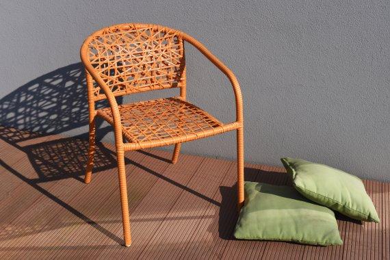 NEST zahradní židle - oranžová