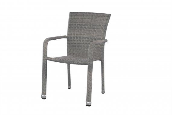 Pohodlné křeslo BARCELONA - šedé