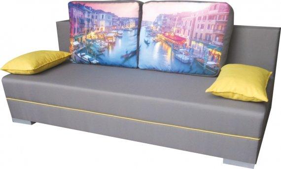 Pohovka rozkládací s úložným prostorem Benátky SOŇA