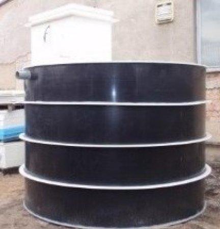 NK5EK objem 4 m3 s NDA technologií pro využití vody na zahradě