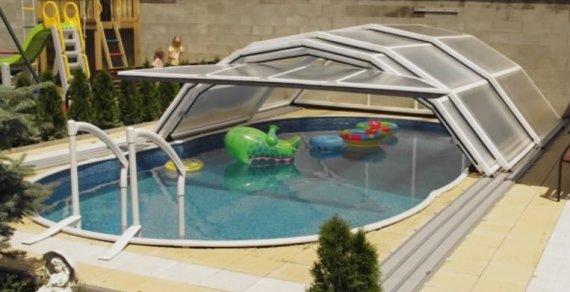 Zastřešení bazénu LIMPOOL 2,9x3,1 m