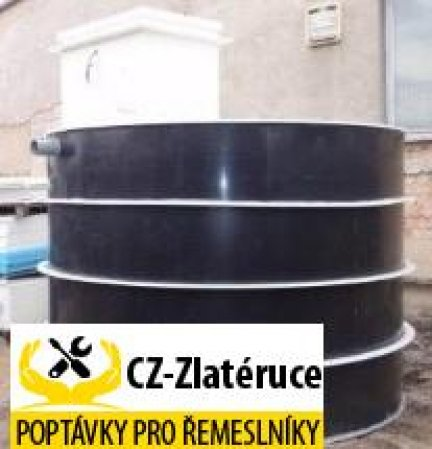 NK3EK objem 2 m3 s technologií NDA pro využití vody na zahradě