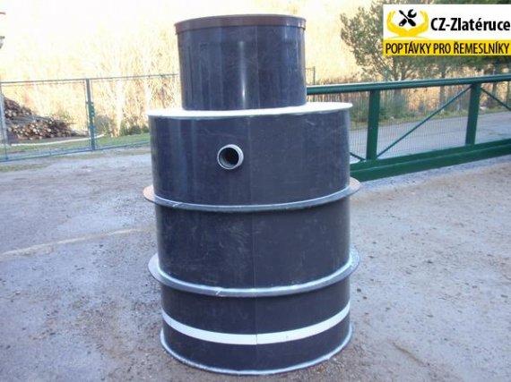 Plastová jímka(nádrž) NK5-EK o užitném objemu 4 m3