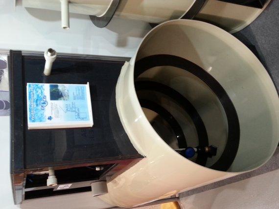 NKL6EK objem 6 m3 s technologií NDA pro využití vody na zahradě