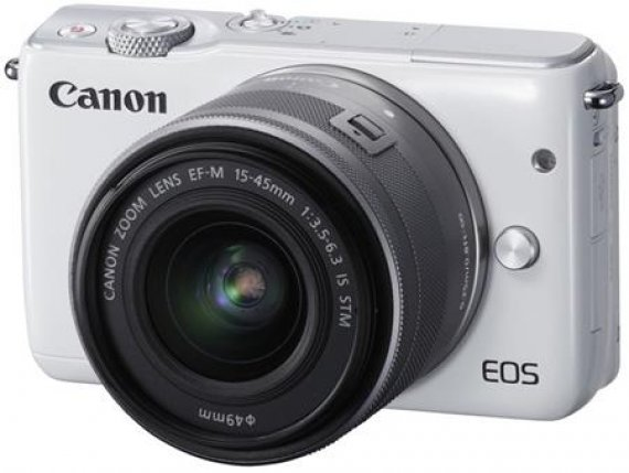 Canon EOS M10 - bezzrcadlovka +15-45mm STM 18 MP, DIGIC 6