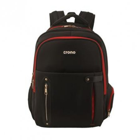 "Crono Dakota - batoh na notebook 15,6"", černý + červený"