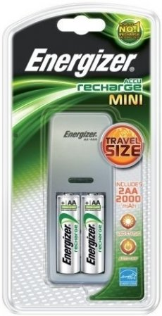 ENERGIZER MINI nabíječka + 2ks akumulátor AA (R06)