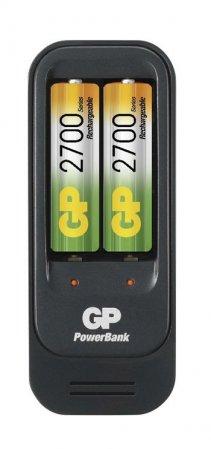 GP nabíječka baterií PB560 + 2AA NiMH2700