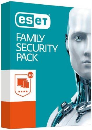 ESET Family Security Pack, 3 stanice, 12 měsíců, krabicová verze