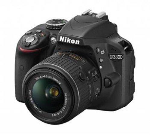 Nikon D3300 - zrcadlovka 18-105 VR