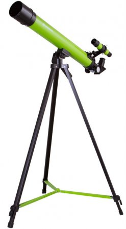 Bresser Junior Space Explorer 45/600 Telescope, blue