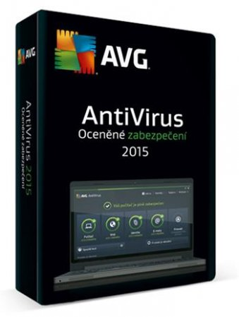 AVG Anti-Virus 2016, 1 lic (24 měs )