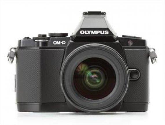 Olympus E-M5 kit 12-50 black/black