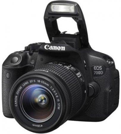 Canon EOS 700D + EF-S 18-55mm IS STM - fotoaparát