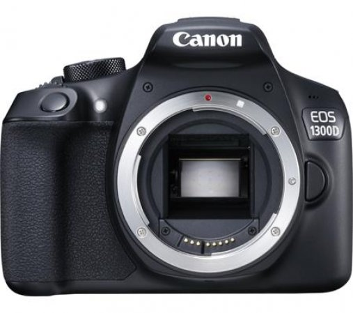 "Canon EOS 1300D - zrcadlovka 18 MP , DIGIC 4+, 3"" LCD"