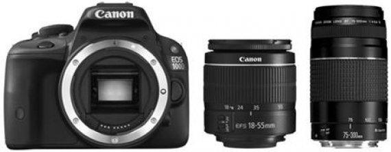 Canon EOS 1300D - zrcadlovka + 18-55 DC + 75-300 DC , 18 MP