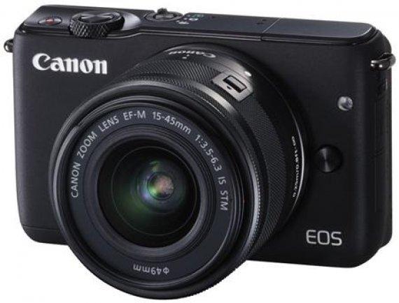 Canon EOS M10 - bezzrcadlovka +15-45mm STM 18 MP
