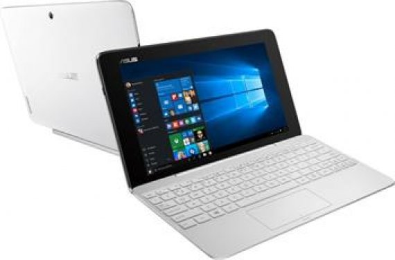 Asus T100HA-FU027T - tablet/notebook, bílý