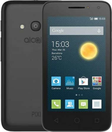 ALCATEL PIXI 4 (4) 4034D Volcano Black