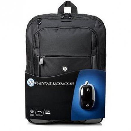 HP Essentials Backpack Kit- batoh, do úhlopříčky 16""