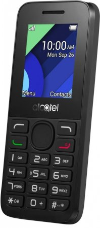 ALCATEL ONETOUCH 1054D Charcoal Black