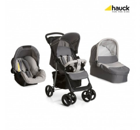 Hauck Shopper SLX Trio Set 2018 kočárek stone/grey