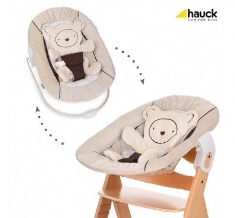 Hauck Alpha bouncer 2018 hearts beige