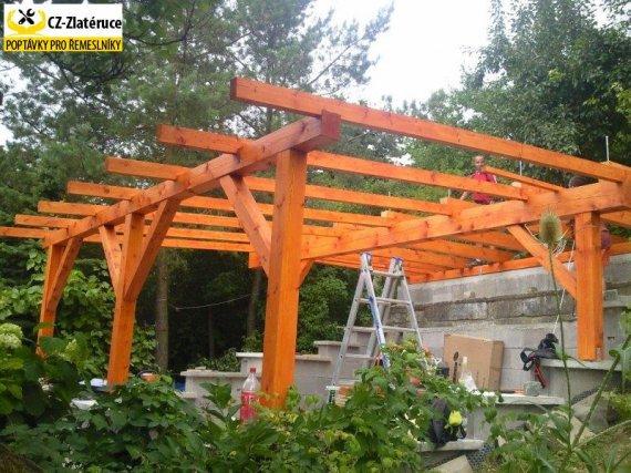 Zhotovení střechy/pergoly či altánu - rezervační voucher
