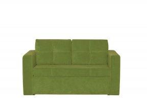 Pohovka rozkládací s úložným prostorem zelená BUNIO
