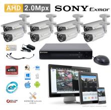 AHD kamerový set PATRONUM - 8 BULLET kamer, 40m IR, 2Mpx