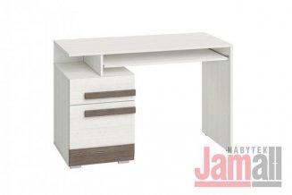 Stůl pracovní borovice sněhová/new grey BLANCO 11
